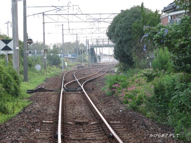 駅に向かう